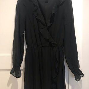 Black H&M Divided Dress   NEVER WORN